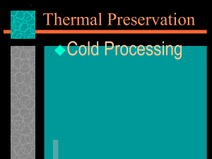 Thermal Pres. Cold Notes