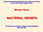 03_Bacterial_Growth_2014 - IS MU