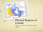 Canada Physical Regions - Mstew-SS10