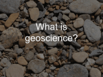 What is geoscience? - Welcome to The College of Social