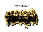 Why Geology? - Silver Falls School District