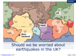 UK earthquake - Snapshot Science