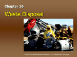 Waste Disposal - Waxahachie Independent School District