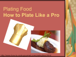 Plating Food How to Plate Like a Pro