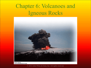 Volcanoes and volcanic hazards