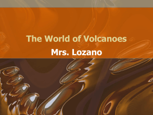 The World of Volcanoes
