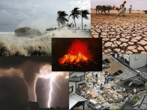 NATURAL DISASTERS NA1A
