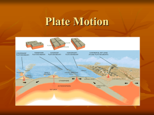 Plate Motion