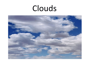 Clouds - the Elementary Science Teachers Wiki!