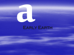 early-earth1 - WordPress.com