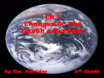 Ch 7 Changes to the Earth`s Surface