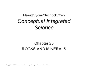Hewitt/Lyons/Suchocki/Yeh, Conceptual Integrated Science