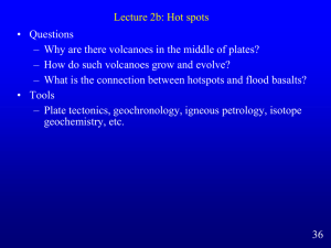 Lecture 2b: Hot spots