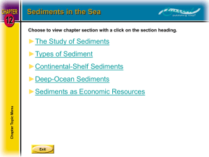 Oceanography Chapter 12