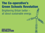 KS4 sustainable energy - The Co