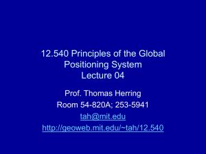 PowerPoint Presentation - 12.540 Principles of the Global