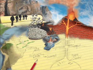 Volcano ppt that goes with notes