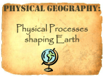 Physical processes vocabulary