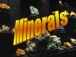 NTW-Minerals and rocks