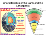 Internal Structure of the Earth and Lithosphere