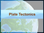 Tectonic Plates Supplemental PowerPoint Presentation
