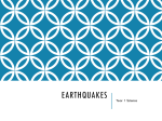 Earthquakes: Chapter 19
