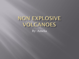 Non explosive volcanoes - Garfield Gifts and Talents