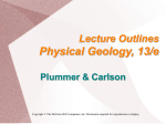 Powerpoint Presentation Physical Geology, 10th ed.