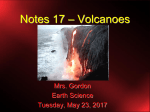 Notes 17 - Volcanoes re-done 2015
