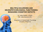 Cognitive & Behavioural Changes in MS