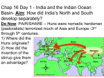 Chap 16 Day 1 India and the Indian Ocean Basin