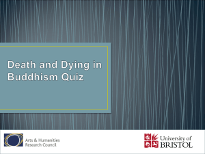 Death and Dying Quiz
