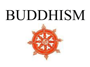 Buddhism Notes