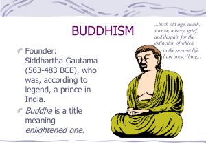 33week3Buddhism
