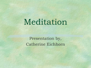 Meditation - Enlighten Me Designs