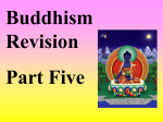 Buddhist Revision Part 5