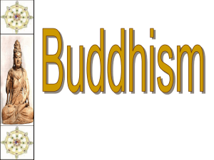 Buddhism - Bloomer School District