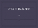 buddhism ppt - Valhalla High School