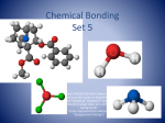 CHEMICAL BONDING - Welcome to Westford Academy