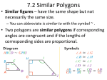 7.2 Similar Polygons - Cardinal O'Hara High School