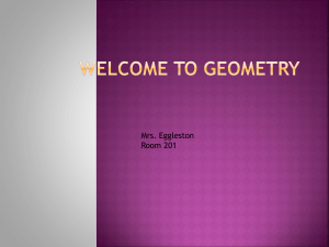 Welcome to Geometry - Greene Central School District