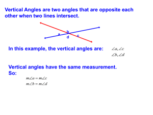 Special pairs of angles Part 2