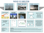 Wind vs. Shelter