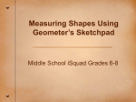 Measuring Shapes in Geosketch