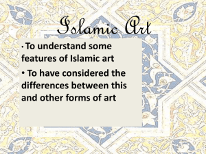 Islamic Art - Quodvultdeus