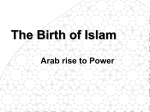 The Birth of Islam - HISTORY APPRECIATION