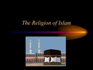 Three Religions of the Middle East