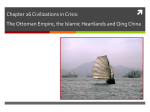 Chapter 26 Civilizations in Crisis: The Ottoman Empire