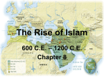 The Rise of Islam - Fabius