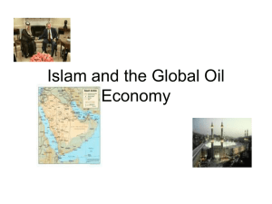 Islam and the Global Oil Economy